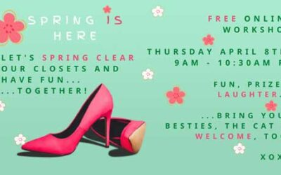 Spring Clear Your Closet